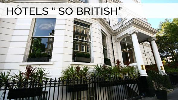 Londres, Hôtel So British