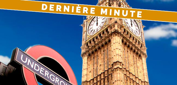 Derni re minute londres welondres for Hotel derniere minute